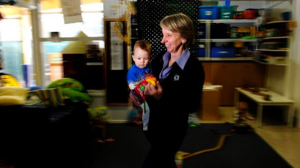 Childcare worker Karen Carey: ''I'm busy at work. I'm generally on the go ... It's lots of moving about. I took the ...
