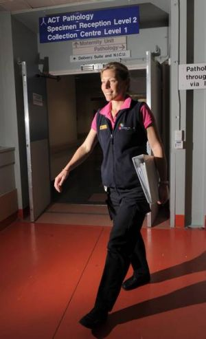 Nurse Fiona Kimber: ''I got into the habit of always taking the stairs at work, I never take the lift.'' Total: 17,678 steps.