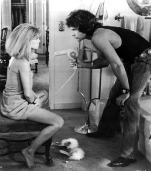 Warren Beattie and Julie Christie in <i>Shampoo</i>.