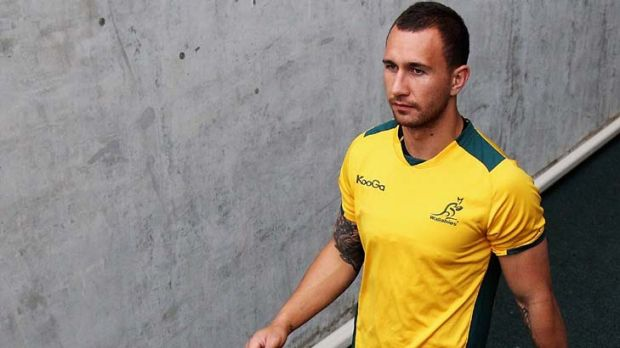 Returning to the Wallabies squad after injuring his knee in last year's World Cup ... Cooper.