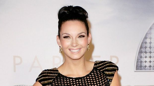 On the rise ... Ricki-Lee Coulter in 2010.