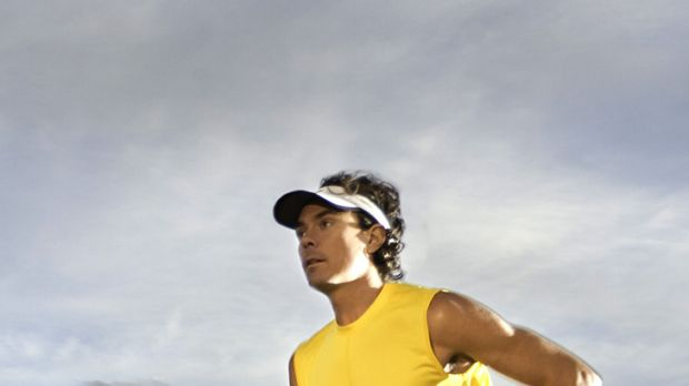 Meat-free ... ultra-marathoner Scott Jurek espouses a vegan diet.