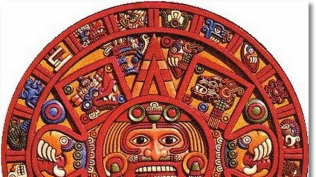 The Mayan calendar ... One in ten Australians believe the world will end this year in line with Mayan prophecies.