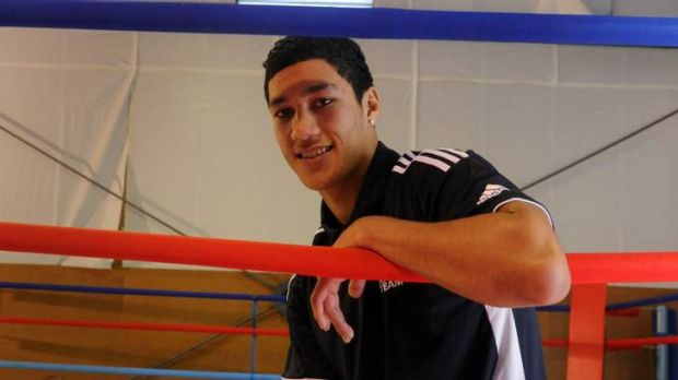 Young heavyweight boxer Jai Opetaia is off to the Olympics.