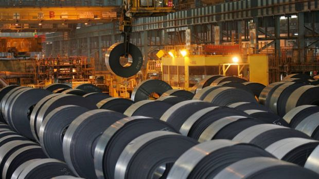 China hopes to revive its economy with greater steel output.