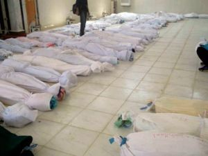 The massacre in Houla has drawn international condemnation - 100 people were killed, nearly half of them children.