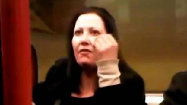 Jacqueline Woodhouse ... jailed for racist rant.
