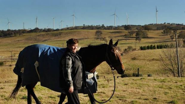 Cullerin Ranges resident and thoroughbred horse trainer Michelle Edwards says her illness may not be caused by the ...