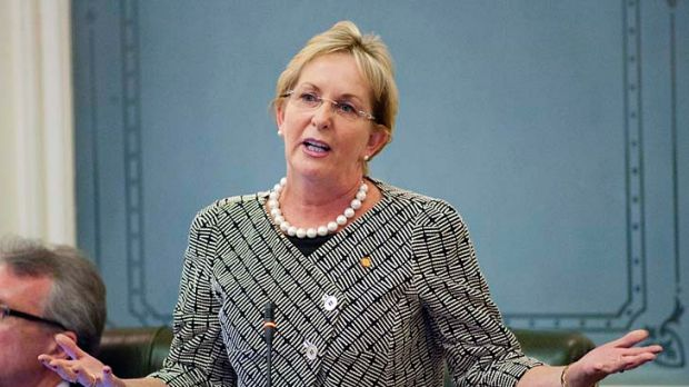 Queensland's ICT Minister Ros Bates can't say how many IT contractors will be affected.