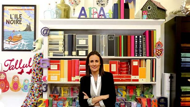 Letter lover … Phoebe Gazal, of Papier d'Amour in Double Bay, attributes the boom to ''romance and nostalgia''.