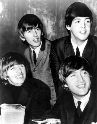 The Beatles in Melbourne.