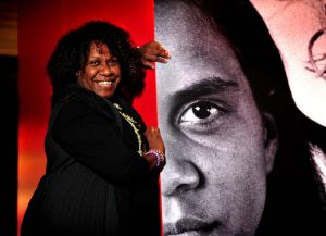 """""""Don't give up"""" ... Gail Mabo, Eddie Mabo's daughter."""
