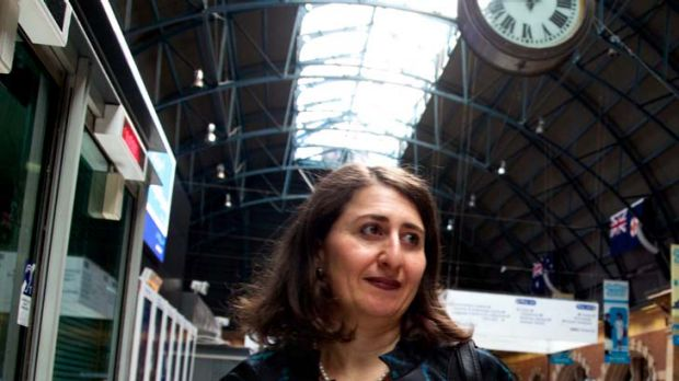 """A second harbour crossing is one option being considered"" ... Transport Minister, Gladys Berejiklian."