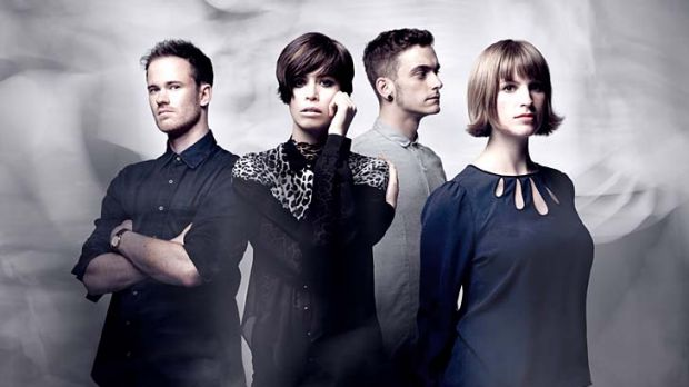 No lustre lost … the Jezabels are Sam Lockwood, Hayley Mary, Nik Kaloper and Heather Shannon.