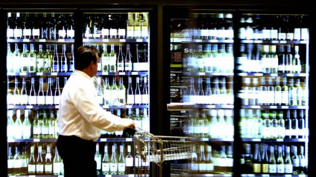 Having a whine ... Cheap, private-label wines are the fastest growing alcohol segments for Woolworths.