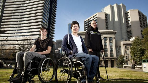 Moving on: Jason Ellery (left), Matthew Pierri and Josh Wood believe they can recover further.