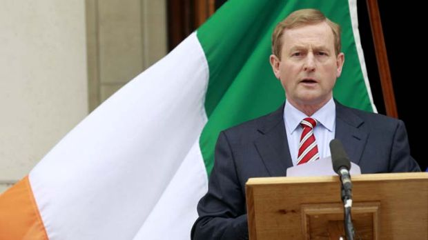 'Europe badly needs a success story' ... Irish Prime Minister Enda Kenny.