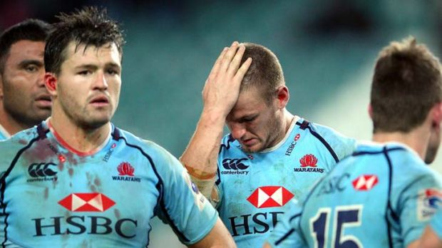 Second-rate rabble ... the Waratahs.