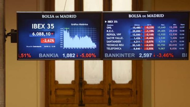 The IBEX 35 curve ... UBS Investment Research says there is that the Spanish banking sector needed a recapitalisation of ...