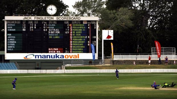 Oval integration ... plans for a revamped Manuka Oval include integration with the shops and services of the surrounding ...