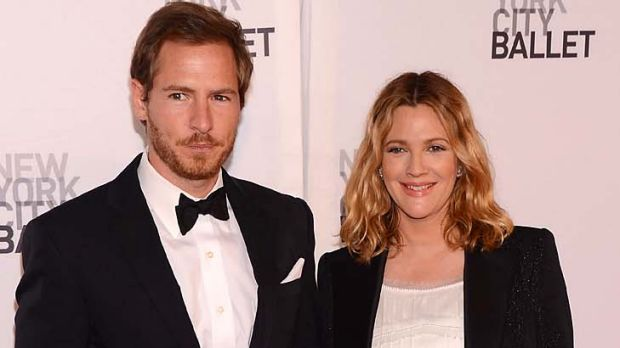 Parents again... Drew Barrymore and Will Kopelman.