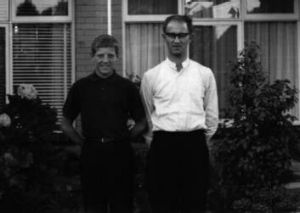 Mr Hersbach as a teenager with Rubeo.