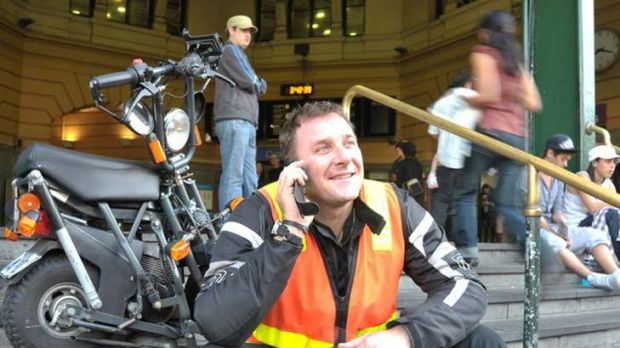 First fleet ... Yan Flageul enlisted a broker to obtain insurance for his business, Drivers on Scoot, the staff of which ...