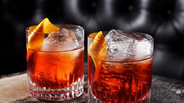 The negroni is both savoury and sweet and with a nice lick of bitterness.