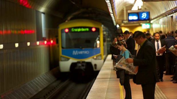 More than 20 per cent of trains were delayed in May.