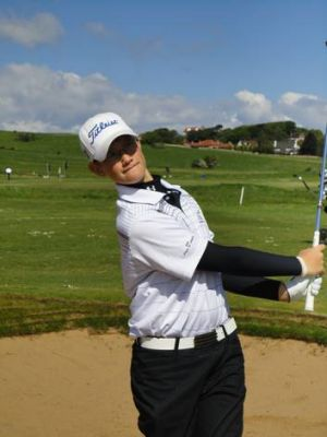 Josh Armstrong won the boys 12-year division of the Junior European Championship in Scotland.