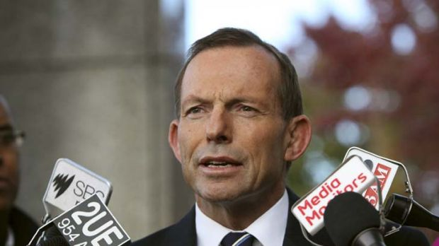 Tony Abbott: 90 per cent of people who arrive illegally via boat are currently being given successful outcomes.