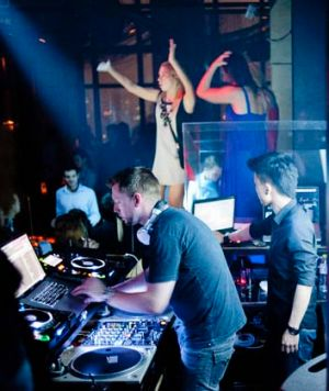 M1NT nighclub in Shanghai: one of the city's most exclusive nightclubs.