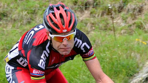 Cadel Evans finished second on the sixth stage.