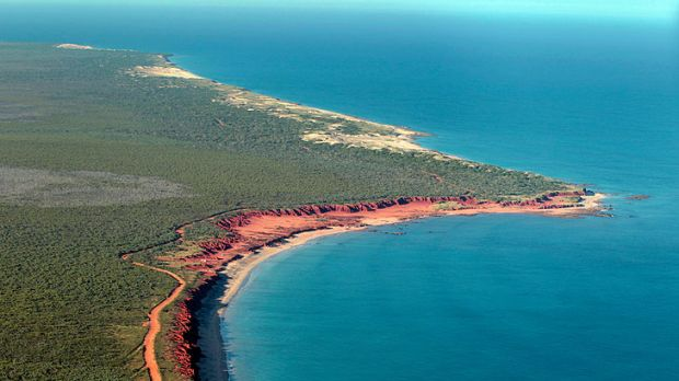 James Price Point from the air.