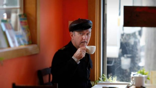 Dave Graney at Magpie cafe.