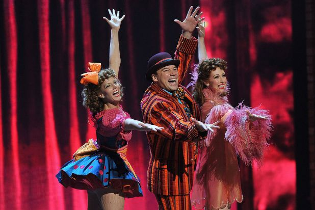 The 'Follies' cast performs onstage at the 66th Annual Tony Awards at the Beacon Theatre, New York City.