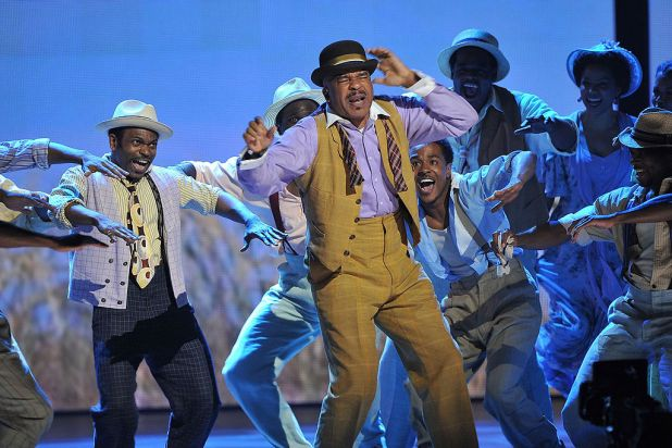 David Alan Grier and the cast of 'Porgy and Bess' onstage at the 66th Annual Tony Awards at the Beacon Theatre, New York ...