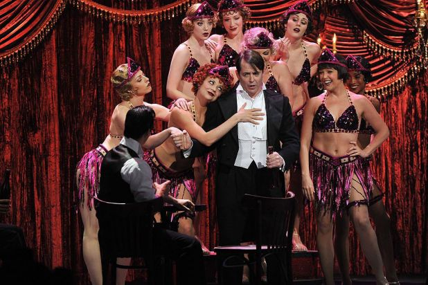 Matthew Broderick performs onstage at the 66th Annual Tony Awards at the Beacon Theatre, New York City.