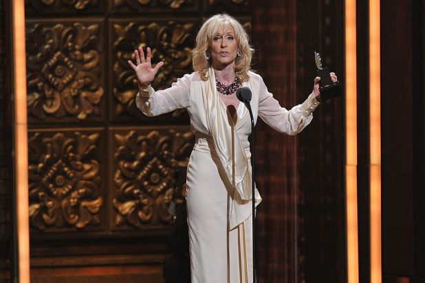 Judith Light onstage at the 66th Annual Tony Awards at the Beacon Theatre, New York City.