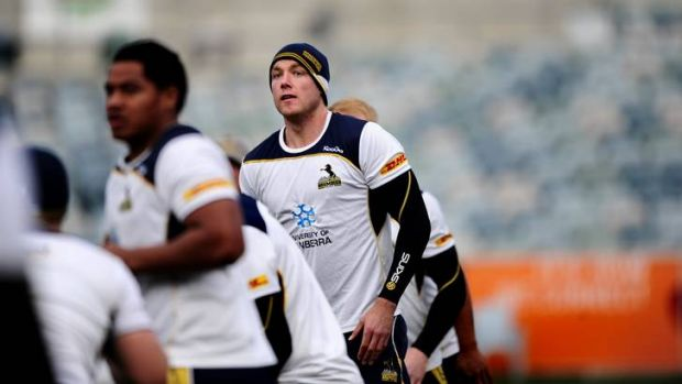 Brumbies player Ben Hand will captain the side against Wales tomorrow night at Canberra Stadium, in what could be his ...