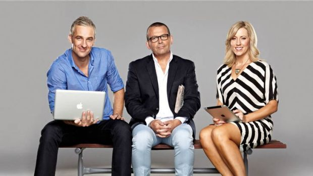 Andrew Rochford, Paul Henry and Kathryn Robinson are attempting to get the right chemistry on Channel Ten's <i>Breakfast</i>.