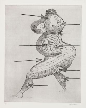 Louise Bourgeois, 'Ste Sebastienne', second version, 1992