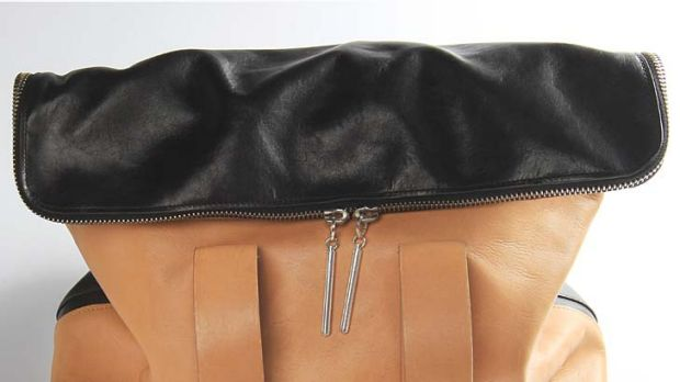 Good as new ... Georgina Safe's Phillip Lim 31 Hour Bag after a visit to Elie Shehadie.