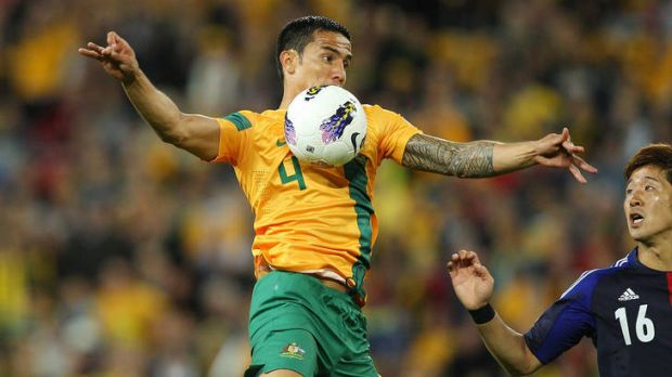 Tim Cahill was back to his best for the Socceroos on Tuesday night.