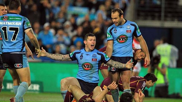 How was that? ... Todd Carney rightfully claims that Cooper Cronk illegally prevented him scoring a try last night. ...