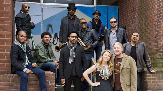Performance art … the sheer quality of the Tedeschi Trucks Band makes the listener feel like they are at a live show.