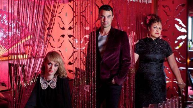 Big Bamboos: (from left) Ella Thompson, Lance Ferguson and Kylie Auldist.