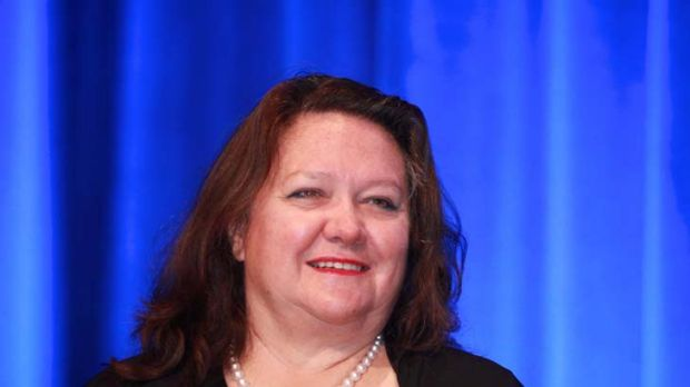 Increased her hold ... Gina Rinehart now owns more than 15 per cent of Fairfax Media.