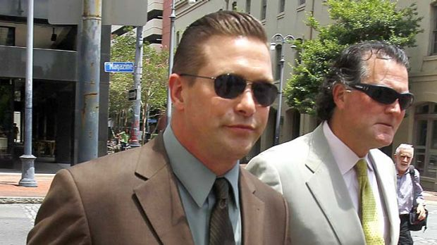Lost his case ... Stephen Baldwin, left.