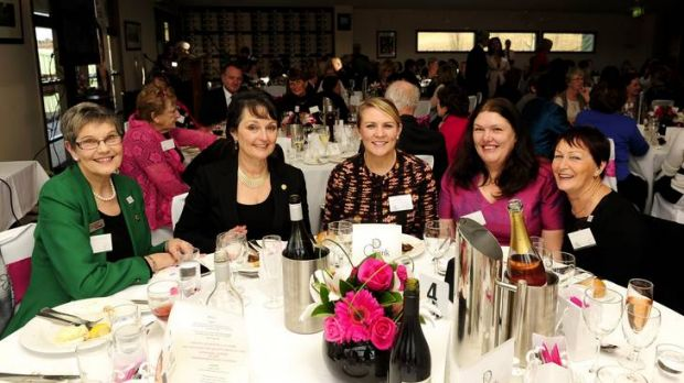 The official launch of ConnectPink, Fairfax Regional Media's social media site for women, at Lake George Winery at ...